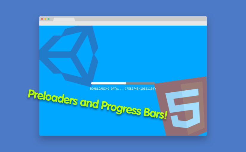 Unity WebGL Custom Progress Bar