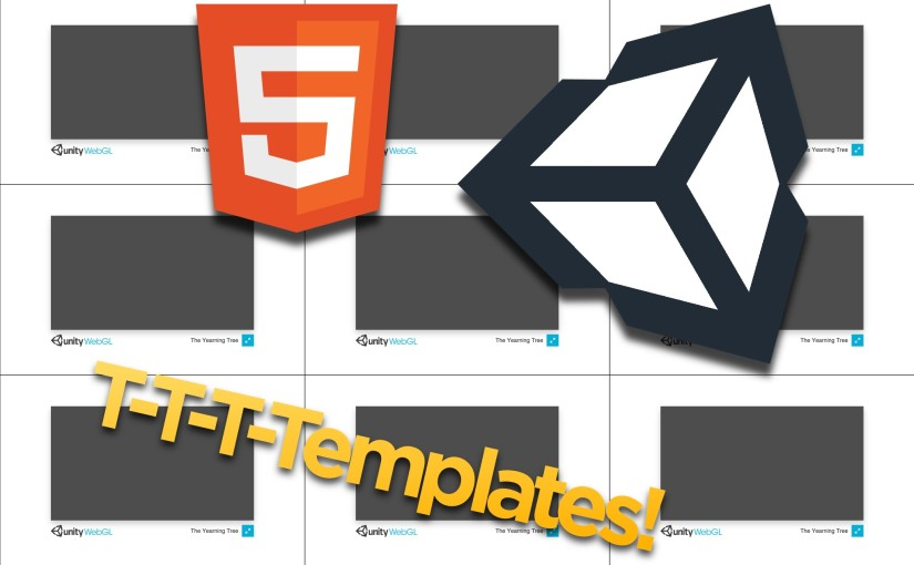 How to set up a Unity WebGL Template